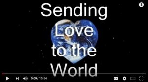 Sending Love to the World is on the air